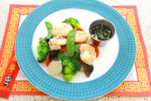 Shrimp with Chinese Vegetables - delivery menu