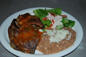 Chuletas Rancheras Dinner - delivery menu
