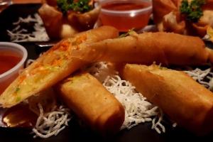 Vegetarian Crispy Rolls - delivery menu