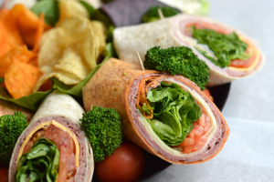 2W. Crispy Chicken BLT Wrap - delivery menu