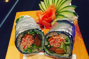 The Sushi Burrito Roll - delivery menu