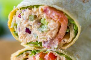 Tuna Wrap - delivery menu