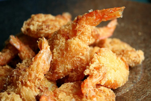 Fried Jumbo Shrimps 12 - delivery menu