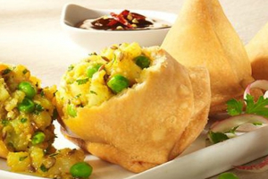 Vegetable Samosas - delivery menu
