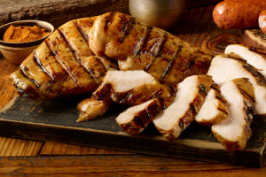 1/2 lb. Chicken Breast - delivery menu