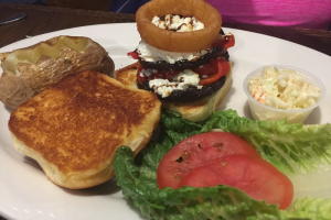 Grilled Portabella Burger - delivery menu