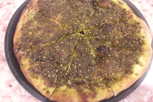 Zaatar Bread - delivery menu