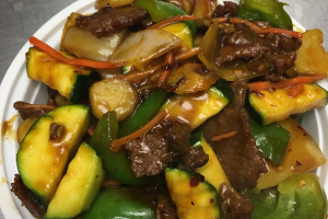 407. Kung Pao Beef - delivery menu