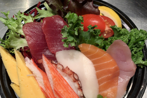 Lunch Chirashi Donburi - delivery menu