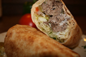 Shish Kofta Pita Wrap - delivery menu