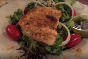 Broiled Flounder - delivery menu