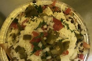 Nachos con Bistec - delivery menu