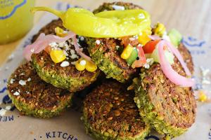 Herbed Sesame Falafel - delivery menu