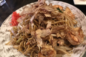 Ebi Yakisoba - delivery menu