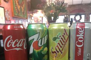 Soda Can 12 oz - delivery menu
