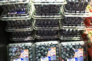 1 Pint Blueberries - delivery menu