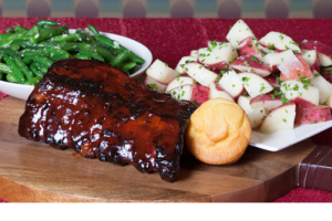 6 Baby Back Ribs - delivery menu