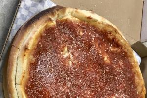 Deep Dish Pizza - delivery menu