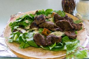 Sirloin Steak Tip Caesar Wrap - delivery menu