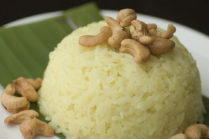 Steamed Coconut Rice - delivery menu