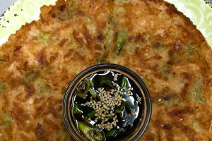 Kimchi Pajeon - delivery menu