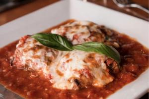Eggplant Parmigiana - delivery menu