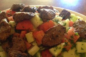 Chicken Kabob Salad - delivery menu