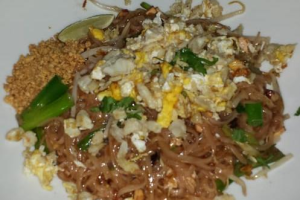 Crab Pad Thai - delivery menu