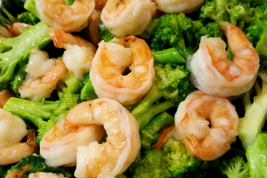Beef or Shrimp with mix Vegetable - delivery menu