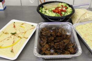 Beef Kebob Platter - delivery menu
