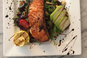 Salmon Nicoise - delivery menu
