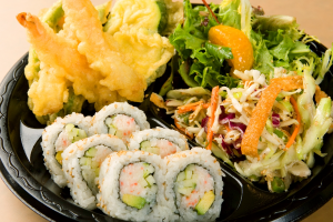 Tempura and California Roll Combo Plate - delivery menu