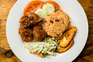 Stew Chicken Meal - delivery menu