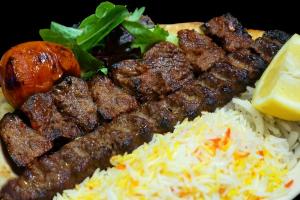 10.1 Beef Shish and 1 Beef Kubideh - delivery menu