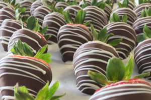 Strawberries - delivery menu
