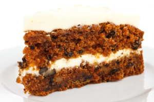 Slice of Carrot Cake - delivery menu
