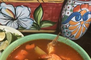 #56. Fish & Shrimp Soup / Caldo De Camaron Y Pescado - delivery menu