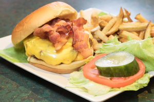 Bacon Cheeseburger - delivery menu