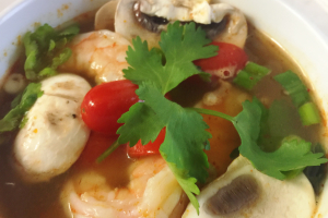 21. Tom Yum Soup - delivery menu