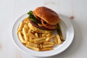 Cheeseburger Deluxe - delivery menu