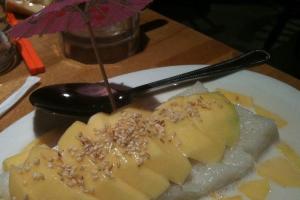 137. Mango with Sticky Rice - delivery menu