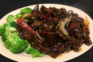 Crispy Beef in Mandarin Style - delivery menu