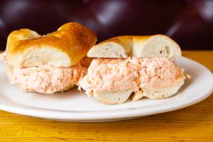 Baked Salmon Salad Sandwich - delivery menu