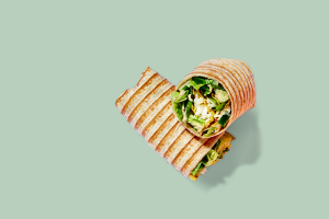 Asian Crunch Wrap - delivery menu