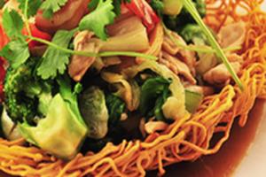 Bird-Nest Stir-Fry Noodles - delivery menu
