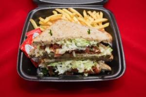 TURKEY BACON PESTO SANDWICH - delivery menu