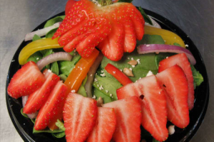Spinach Strawberry Salad With Feta Cheese - delivery menu