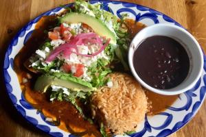 Chicken Enchiladas - delivery menu