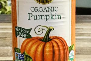 Organic pumpkin cans, Farmer's market - delivery menu