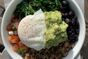 Breakfast Bowl W/ Poached Egg *ALL DAY* - delivery menu